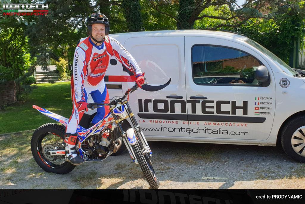 Irontech Motorsport, con Vaccaretti, nel trial